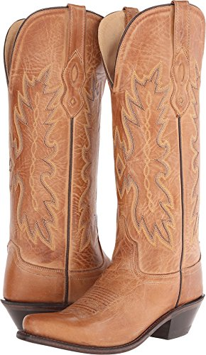 Old West Tan Canyon Womens All Leather Snip Toe 14in Tall...
