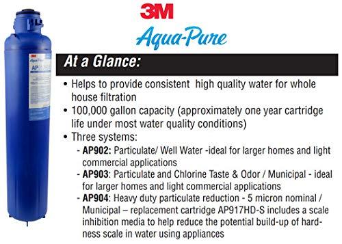 Aqua-Pure AP917HD-S Whole House Large Diameter Replacement Filter Cartridge