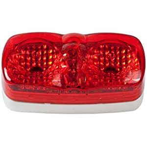 Blazer CW1544R LED 4-Inch Oblong Clearance and Side Marker Light - Red