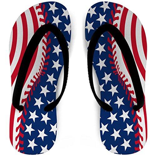 Softbal-slippers Gestikte Amerikaanse Vlag