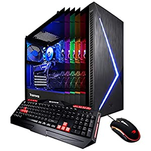 iBUYPOWER Elite Slate2 080i Desktop Gaming PC - Intel i5-9400F 2.9GHz, NVIDIA GeForce GTX 1060 3GB, 1TB Intel 660P Nvme SSD, 8GB DDR4-2666 RAM, Wifi Included, RGB, Win 10 Home 64-bit