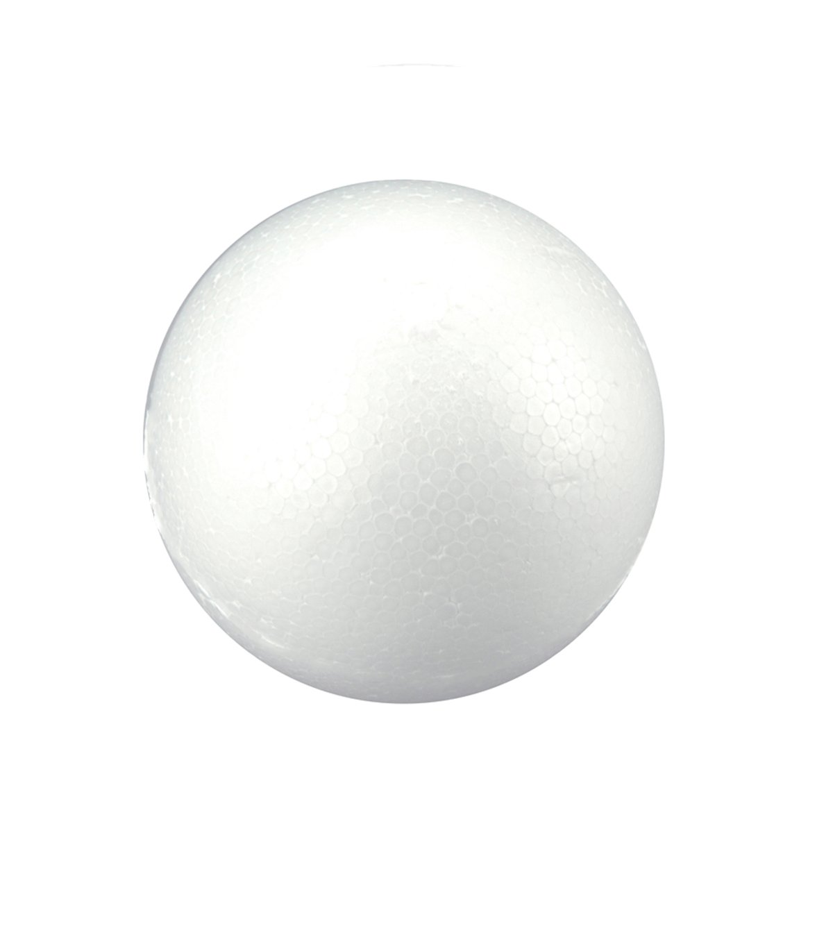 LA Crafts 6 Piece of 8'' Party Floral Decorations School Project Craft Projects Paint or Decorate Foam Balls