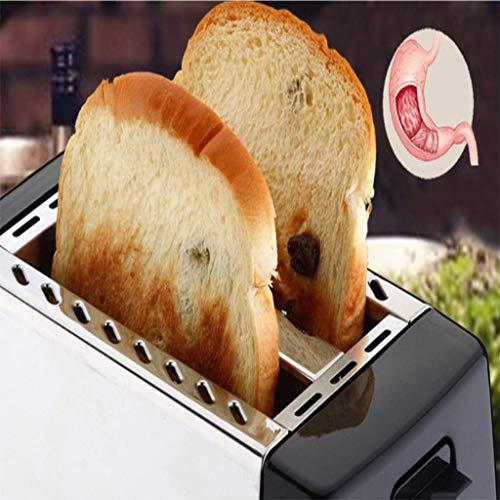 Máquina de pan, máquina de pan casera multifunción, máquina automática de sándwich, tostadora de la máquina de desayuno: Amazon.es: Hogar