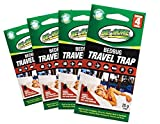 Be-Gone 4pc Travel Size Bed Bug Trap & Monitoring Early System Kit (Quad Pack)
