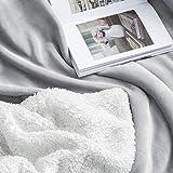BEDSURE Sherpa Fleece Blanket Queen Size