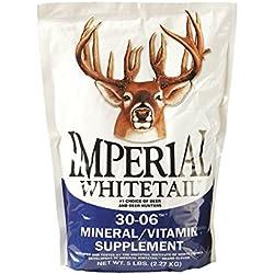Whitetail Institute 30-06 Mineral/Vitamin Deer Mineral Supplement, 20-Pound