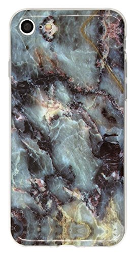 THE FORTRESS Premium cases - Marble Pattern Hard Rubber Phone for Apple iPod 6 6th Gen . Made and shipped from the USA. Design 17The perfect blend of minimalism and shock absorbtion