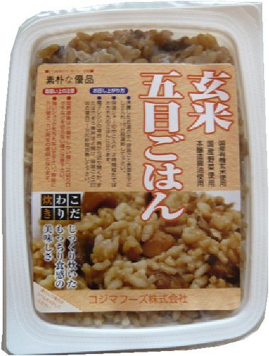 Kojima Foods brown rice Gomoku rice <160g> 20 Kekesu sale by Kojima Foods