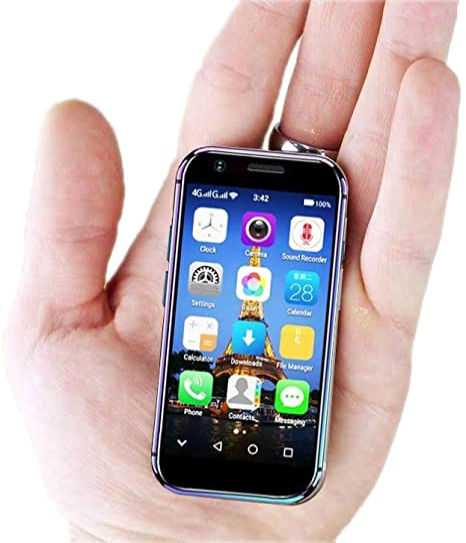 Mini Smartphone iLight XS, iPhone X más pequeño del Mundo Teléfono ...