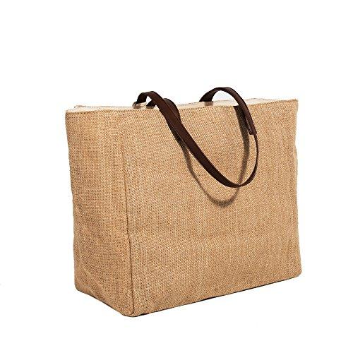 Beige Parfois Shopper Shopper Riscada Donne Riscada Donne Beige Parfois OqwH1xO8f