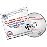 US Citizenship test CD 2016 for the New US Naturalization Test by Citizenship And Immigration services and Official USCIS test study Citizenship Questions and Answers to help with Citizenship Practice