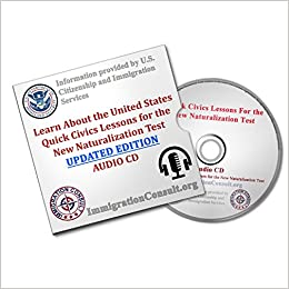 US Citizenship test audio study guide with all 100 USCIS official ...