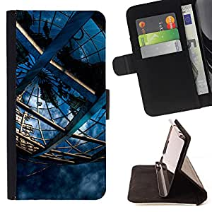 - Science Engineering Mystical Cage - Estilo PU billetera de cuero del soporte del tir???¡¯????n [solapa de cierre] Cubierta- For Samsung Galaxy S4 Mini i9190 £¨ Devil Case £©