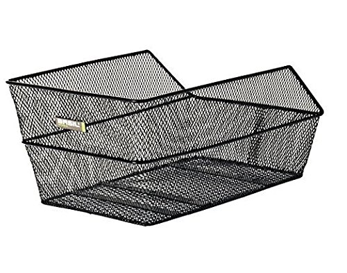 Basil Cento Rear Basket, Black