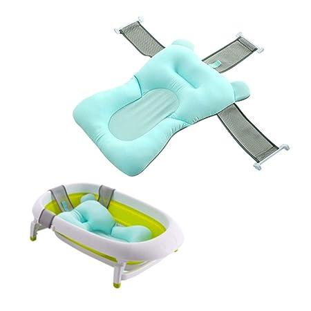 Faltbare Baby Badewanne Pad Baby Badewanne Pad Neugeborenen Baby Badewanne Duschkissen Matte Baby-Badekissen