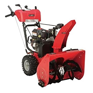 B005C3HUG2_Snapper 1696000 24-Inch 205cc OHV Briggs & Stratton Gas-Powered Two-Stage Snow Thrower with Electric Start