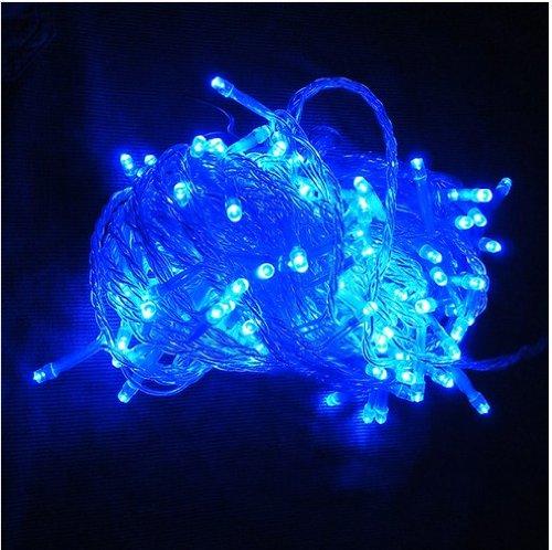 220V 50m 500LED Blau String Dekoration Licht für Weihnachtsfest.