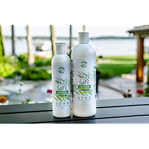 Organic Dish Soap By True Green Organics. Eco Friendly, Non-Toxic Liquid Detergent for Hand Washing and Dishwasher. Lemon-Lime Scent - 16 Fluid Ounces