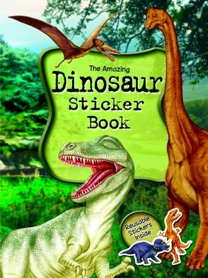 Dinosaur sticker book amazon co uk toys games