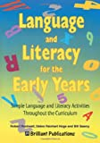 img - for Language and Literacy for the Early Years book / textbook / text book