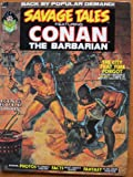 Savage Tales #2, October 1973. Conan in Red Nails