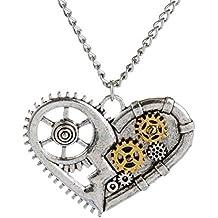 Martine Mall Steampunk Octopus Nautical Pirate Necklace Pendant Charm Jewelry