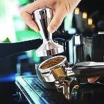 Caff-manomissione-della-macchina-DLAND-51-millimetri-Diametro-Grip-in-acciaio-inox-piatto-base-della-maniglia-Bean-Barista-Espresso-Tamper-Accessori-pressione-da-cucina