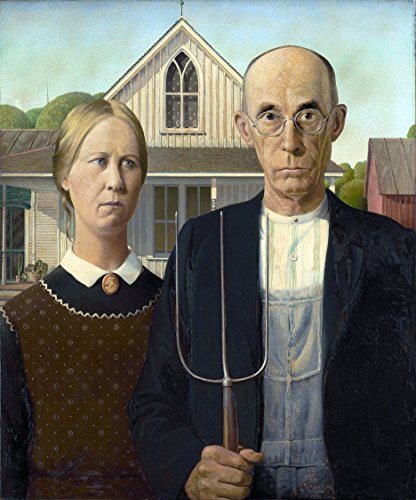 - Counted Cross Stitch Patterns: American Gothic by Grant Wood, (Great Artists Series)