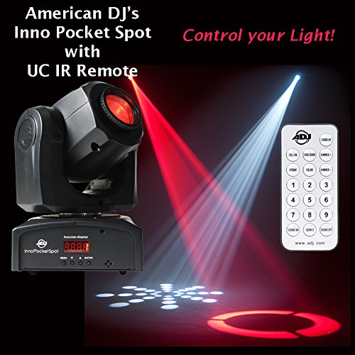 ADJ Inno Pocket Spot with UC IR Remote