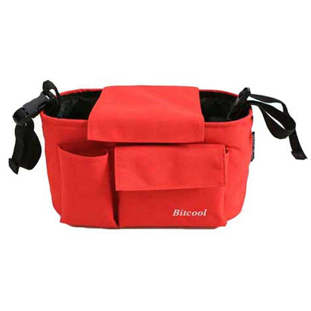 RED Baby Infant Stroller Parent Cup Holder Bag Toddler Jogger Liquid Holster