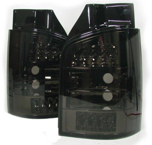 Carparts-Online 12739 Klarglas LED R/ückleuchten schwarz