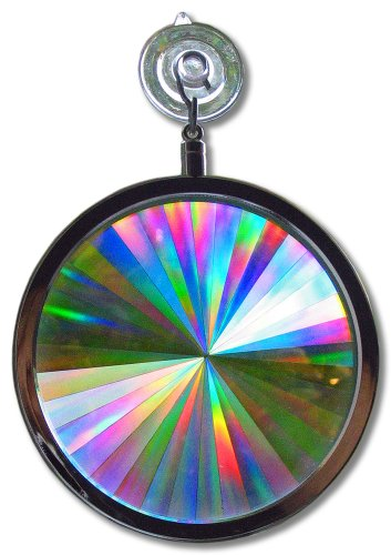 (Suncatcher - Rainbow Axicon Window Sun Catcher - These Suncatchers are Great for Feng Shui)
