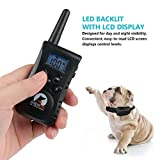ProCollar Dog Training Collar, Rechargeable and Waterproof,550 Yards Range Remote with Beep, Vibration and Shock Electronic Collar for Puppy,Small,Medium and Large Dog (2018 New Type)