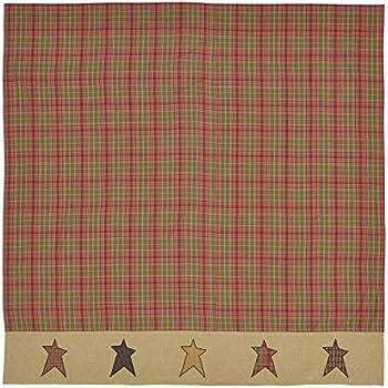 VHC Brands Stratton Shower Curtain 72x72
