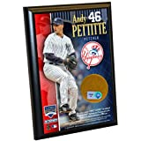 MLB New York Yankees Andy Pettitte 4-by-6-Inch Dirt Plaque