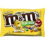 M&M'S Peanut Chocolate Candy Fun Size 18.8-Ounce Bag (Pack of 3)