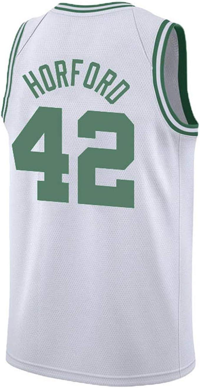 PLLM Camiseta de Baloncesto para Hombre, diseño Celta Al Horford No. 42 para Hombre, Ropa Deportiva cómoda y Sencilla de Baloncesto Salvaje, Regalo: Amazon.es: Ropa y accesorios