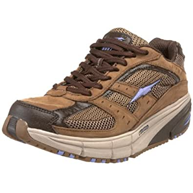 AVIA Women's El Moro A9997W Walking Shoe,Brown/Purple,7 M US