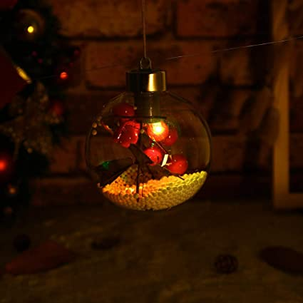 boluoyi indoor string lightschristmas lights white wirechristmas tree pendant hanging home ornament