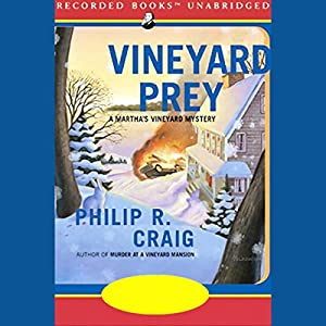 Vineyard Prey Audiobook