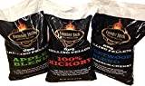Lumber Jack 180 Pound BBQ Smoker Pellets Variety Pack - Pick 9 x 20-Pound Bags (See Description for Flavors)