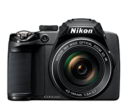 Nikon Coolpix P500 12.1 Cmos Digital Camera With 36x Nikkor Wide-angle Optical Zoom Lens & Full Hd 1080p Video (Black)