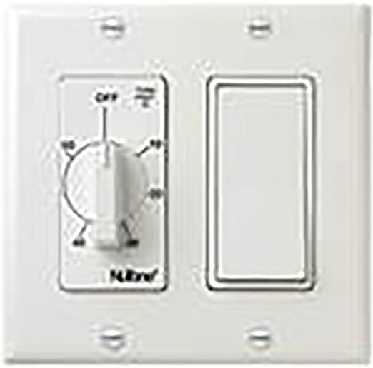 Nutone Vs66wh 60 Min Timer1 Onoff Switch White Bath Fan