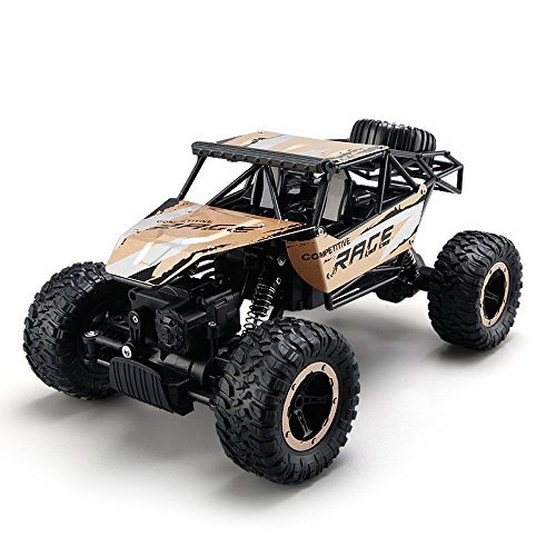 ToyPark Remote Control Cars,RC Rock Off-Road Vehicle 2.4Ghz 4WD Fast Speed Racing Cars