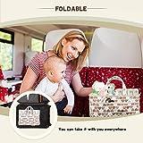 SITHON Baby Diaper Caddy Organizer, Portable