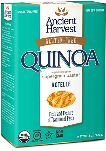 8-Pack Ancient Harvest Quinoa Rotelle - Gluten Free Supergrain Pasta - 8oz Boxes
