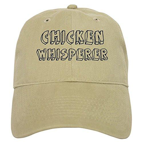 CafePress - Chicken Whisperer Cap - Baseball Cap with Adjustable Closure, Unique Printed Baseball (Chicken Hats)
