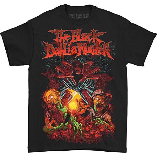 (Black Dahlia Murder Men's Catacomb Hecatomb T-Shirt Large)