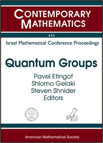 Book Quantum Groups (Contemporary Mathematics)