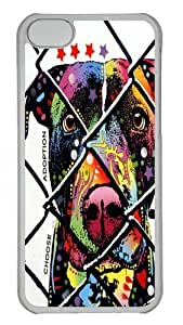 choose adoption pit bull Polycarbonate Hard Case For Ipod Touch 4 Cover Transparent